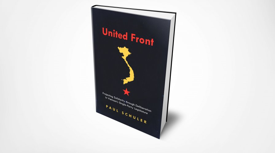 """Book cover for """"United Front"""""""
