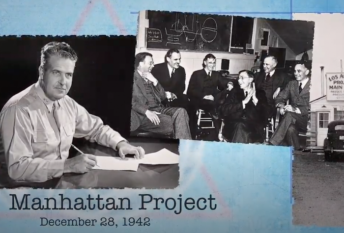 Images of the Manhattan Project scientists