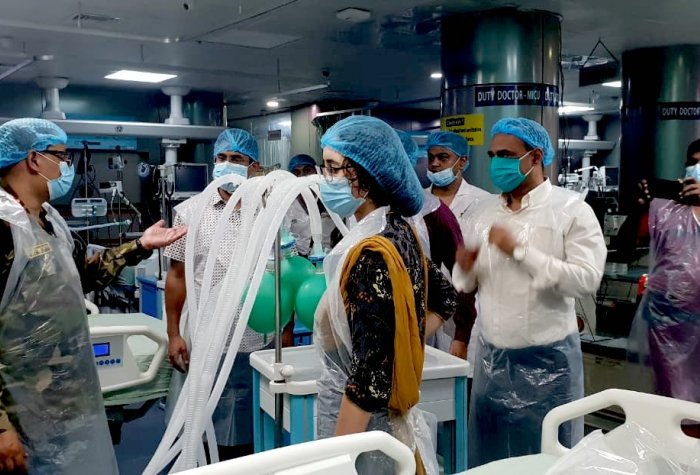 evaluating ventilator