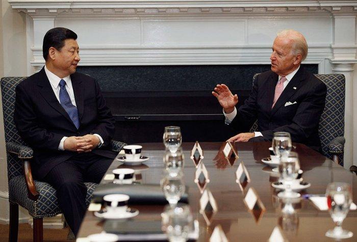 President-elect Joe Biden and Chinese President Xi Jinping
