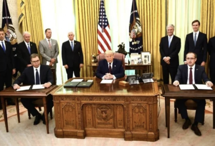 photo of president in oval office