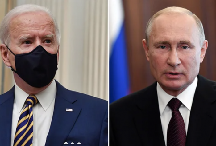 Image of Joe Biden and Putin