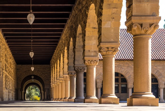 arches at Stanford University