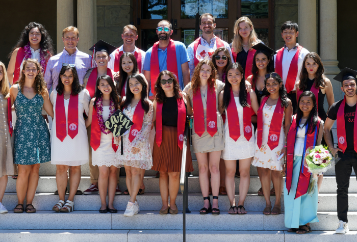 Graduates from the 2021 class of the Ford Dorsey Master's in International Policy (MIP).