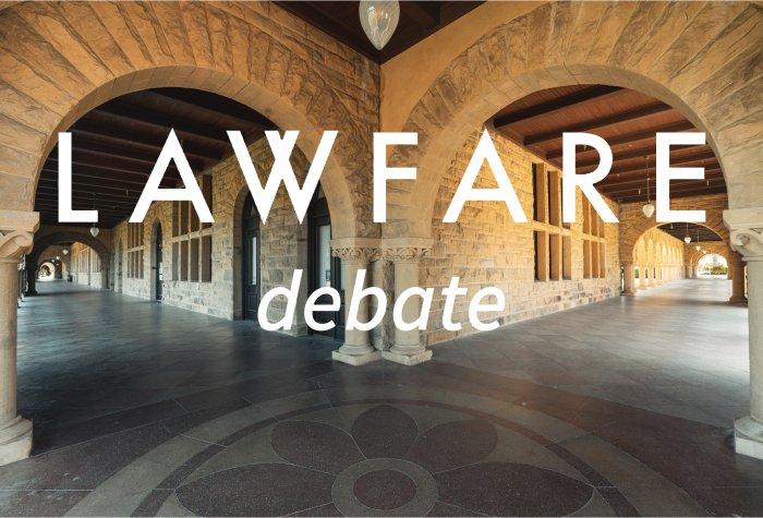 Lawfare Debate