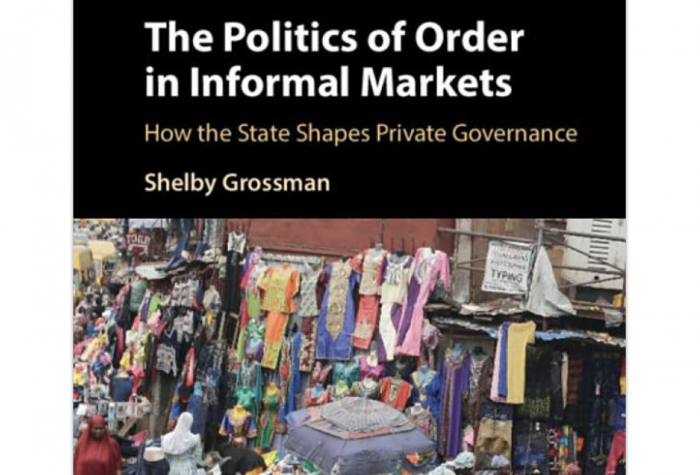 The Politics of Order in Informal Markets: How the State Shapes Private Governance book cover