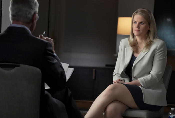 Frances Haugen 60 minutes interview