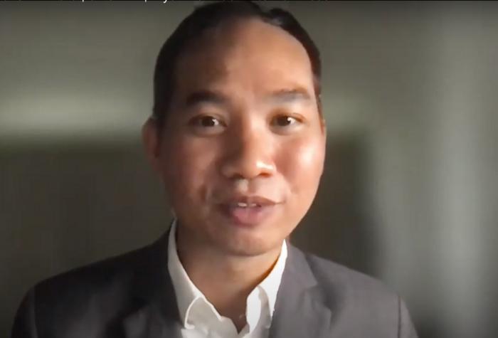 Burmese journalist Swe Win
