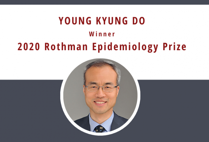 Portrait of Young Kyung Do, Winner of the 2020 Rothman Epidemiology Prize