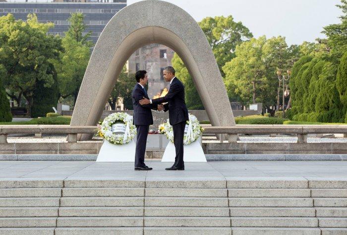 abe obama hiroshima