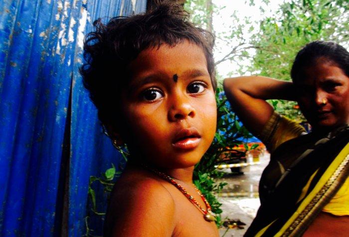 boy in dalit community