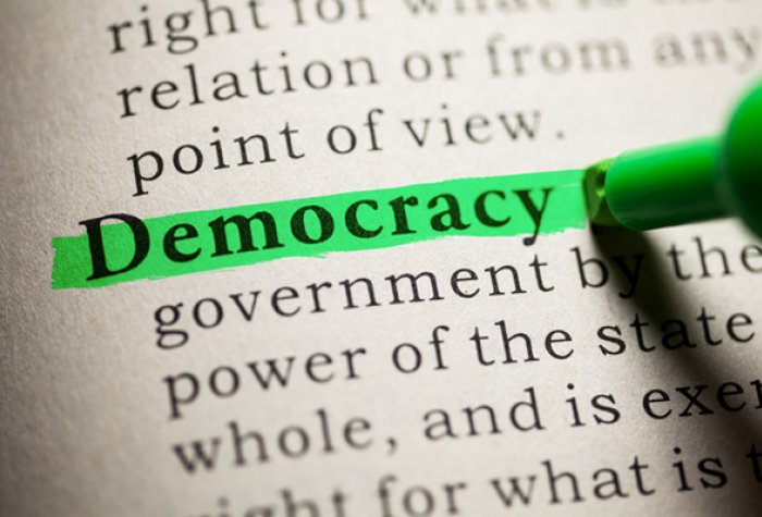 democracy stock image