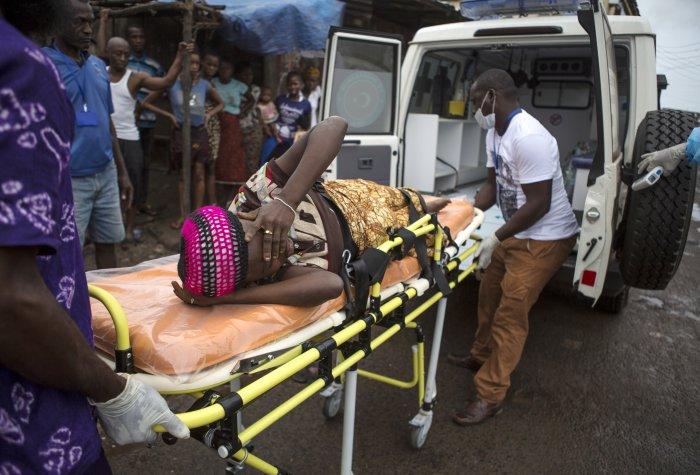 ebola woman