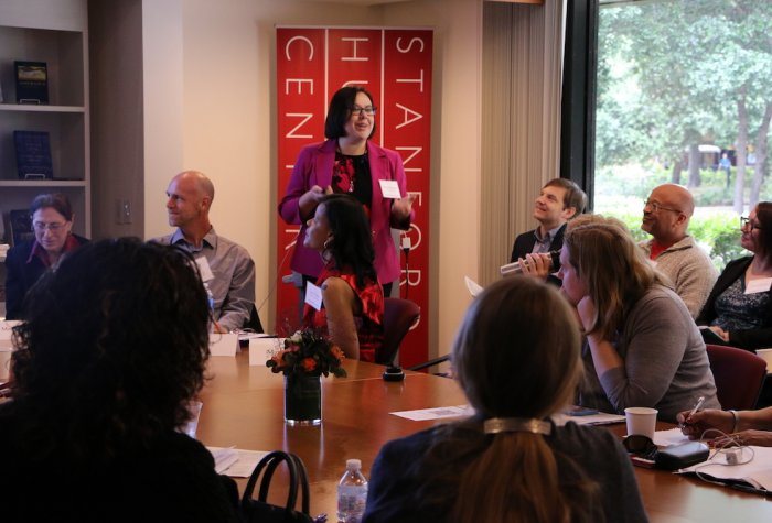 Community college instructors present at the 2019 EPIC Symposium