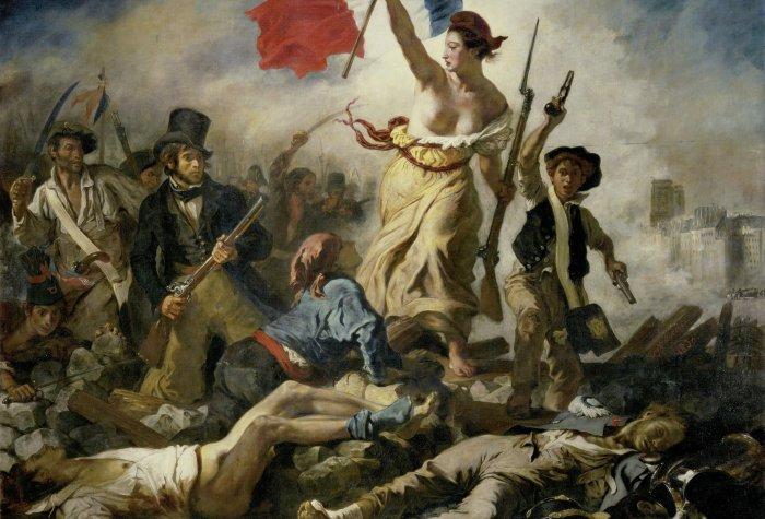 eugene delacroix   le 28 juillet  la liberte guidant le peuple