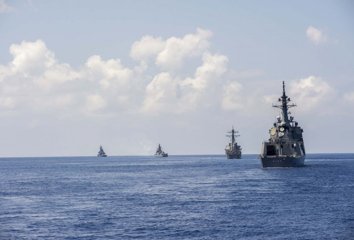 flickr us pacific fleet trilateral exercise