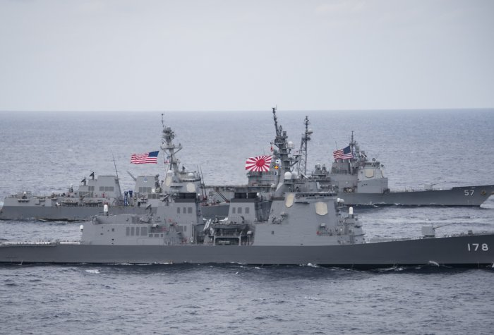 U.S. Navy Patrols Philippines Sea