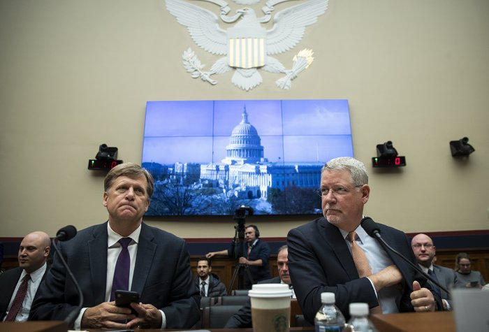Michael McFaul testifies before the House Intelligence Committee.