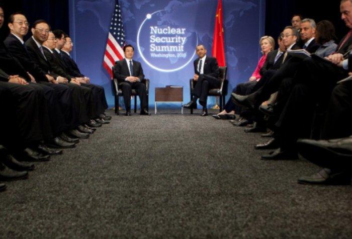 Politico Nuclear review shows bipartisanship logo