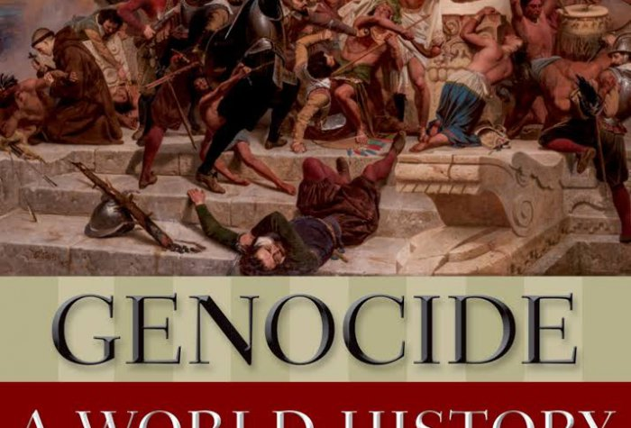 "Book cover for ""Genocide: A World History"""