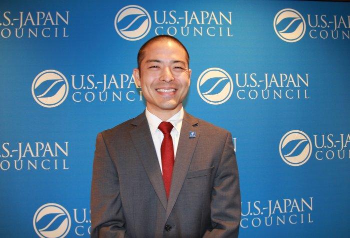 Rylan Sekiguchi at the 2017 U.S.-Japan Council conference