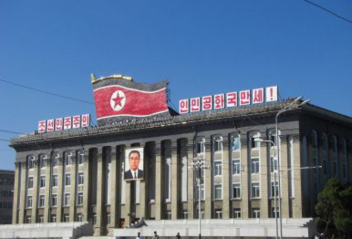 Building in Pyongyang