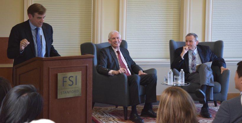 Ambassador Moriarty at APARC
