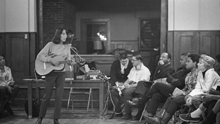 Joan Baez, SCLC Frogmore Retreat