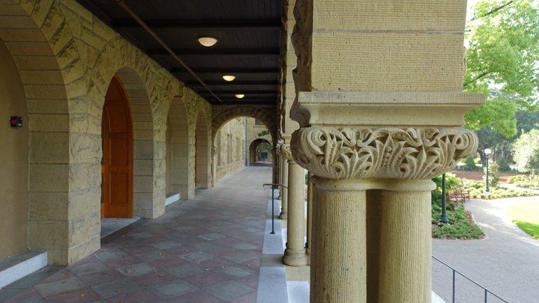 Encina Hall Column