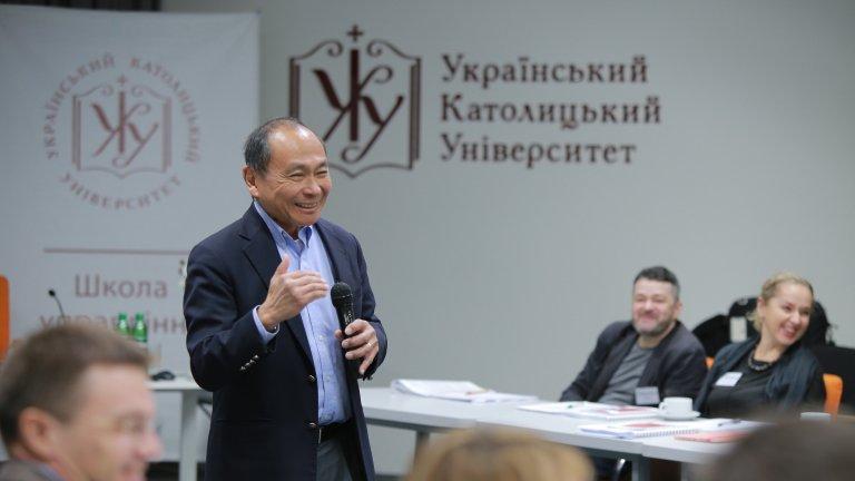 frank teaching ukraine