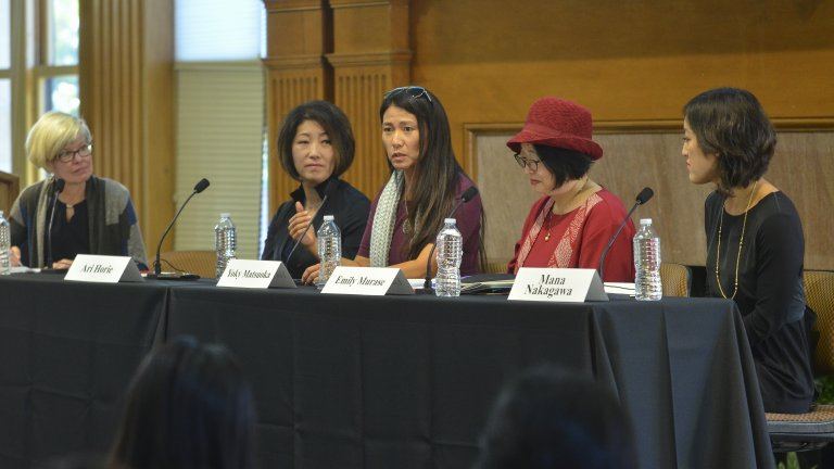 All women panel at the Women in the Workplace Conference