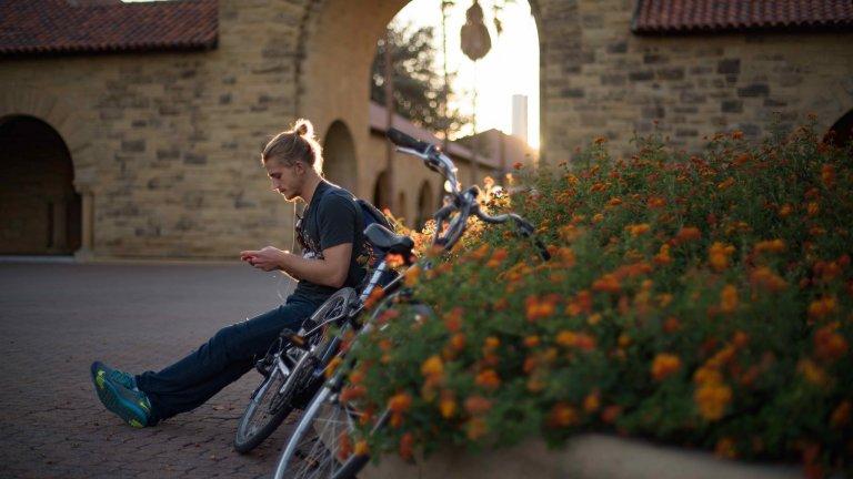 stanford student bike