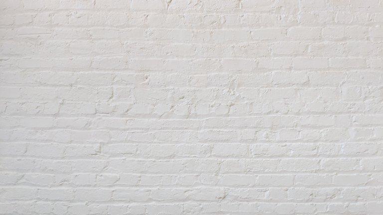White brick textured background