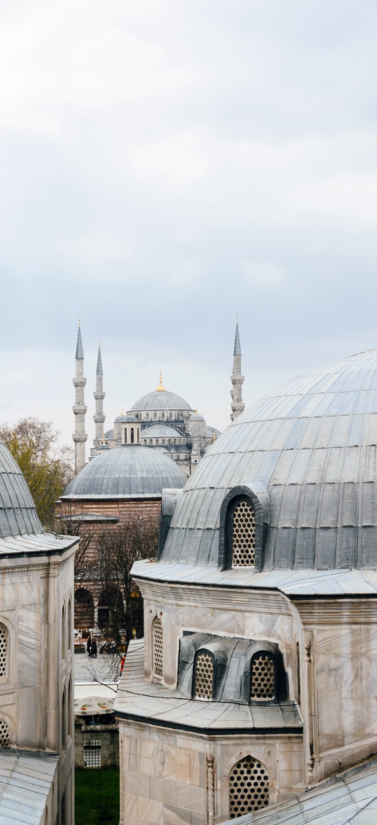 Istanbul domes/Getty Images