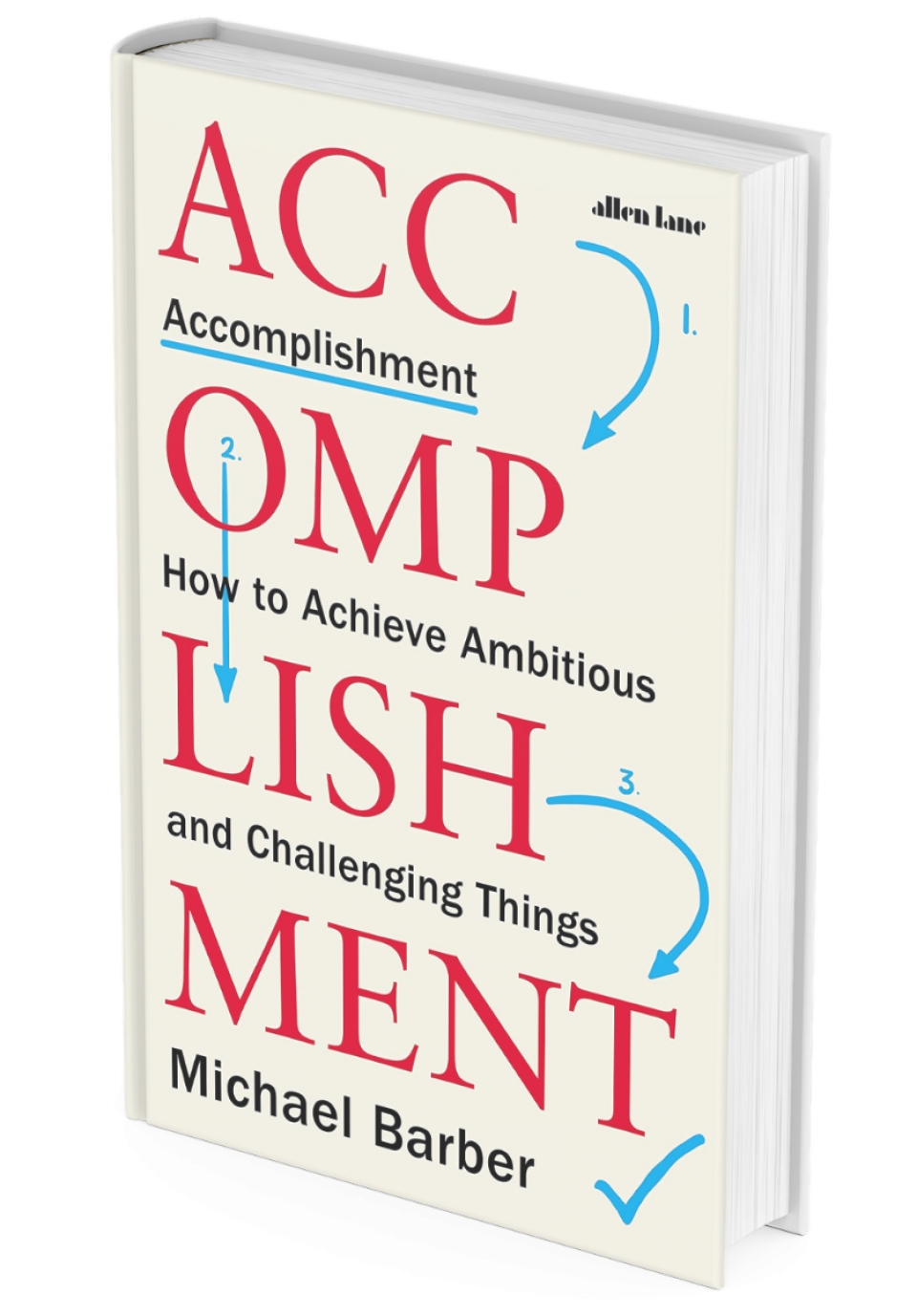 Book cover of Accomplishment by Sir Michael Barber
