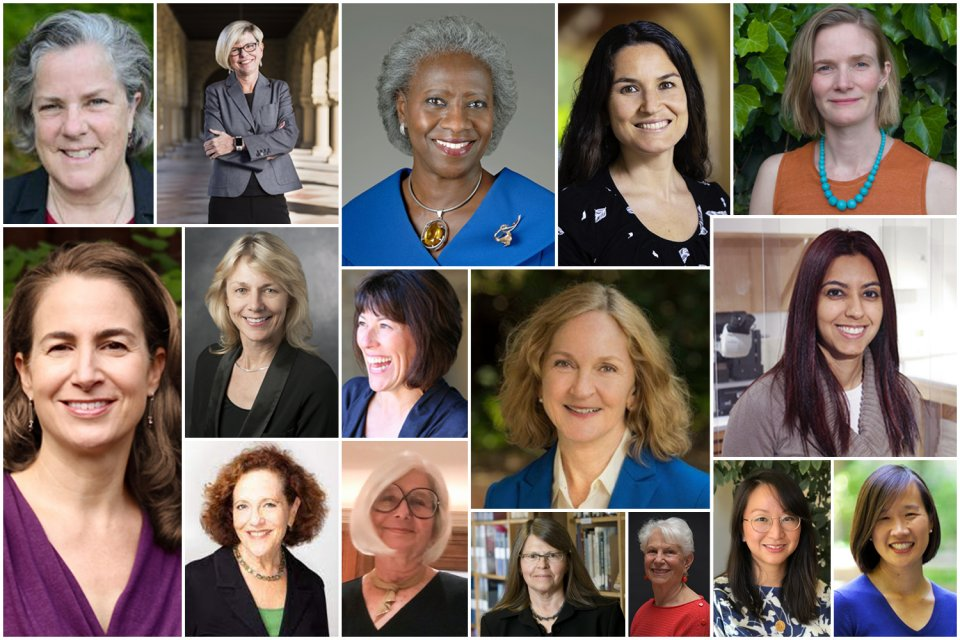 The 15 faculty and one staff member given the Faculty Women's Forum Award.