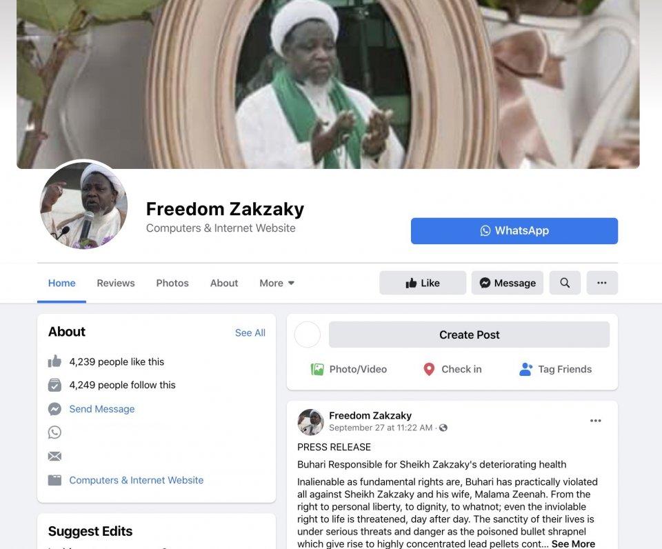 Freedom Zakzaky