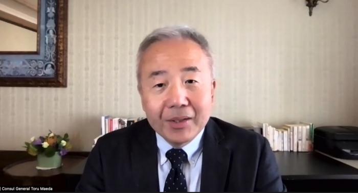 The Honorable Toru Maeda, Consul General of Japan in San Francisco