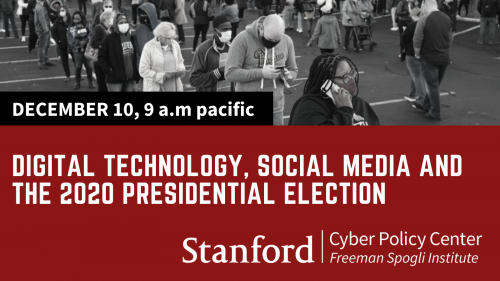 december 10th digital tech social media and 2020 election