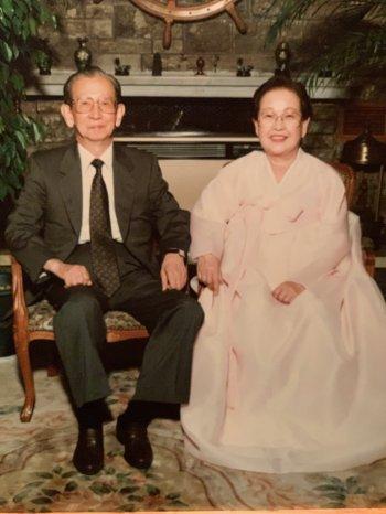 Brandon Cho's great-grandparents, Tai Young Whang and Bong Soon Whang, Seoul
