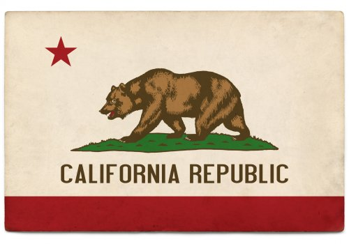 California Republic Flag